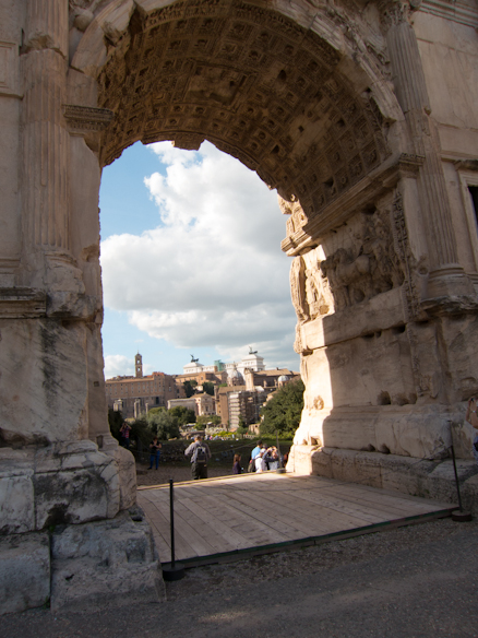 Titus' Arch - victory over Judea