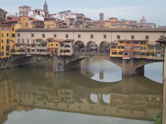 Ponte Vecchio and Arno