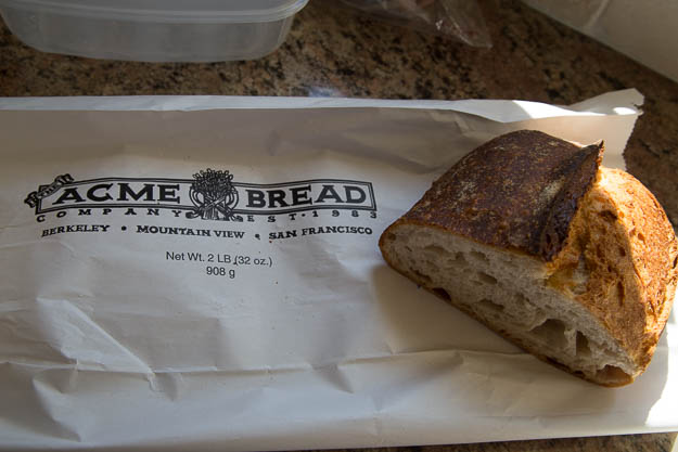 Acme sourdough bread