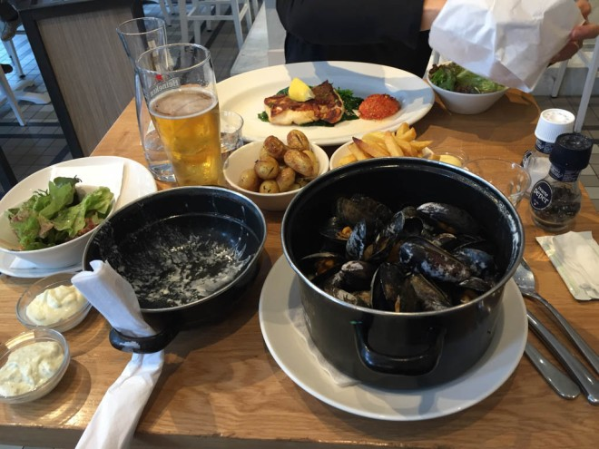 Amsterdam food the best 5 years for Seafood bar spui 15