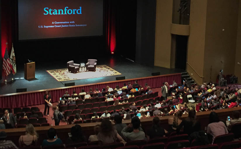 Justice Sonia Sotomayor at Stanford